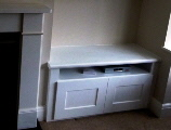 fitted victorian alcove cabinets
