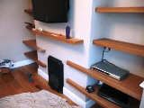 Solid Oak Shelves