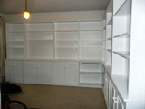 office shelving installations